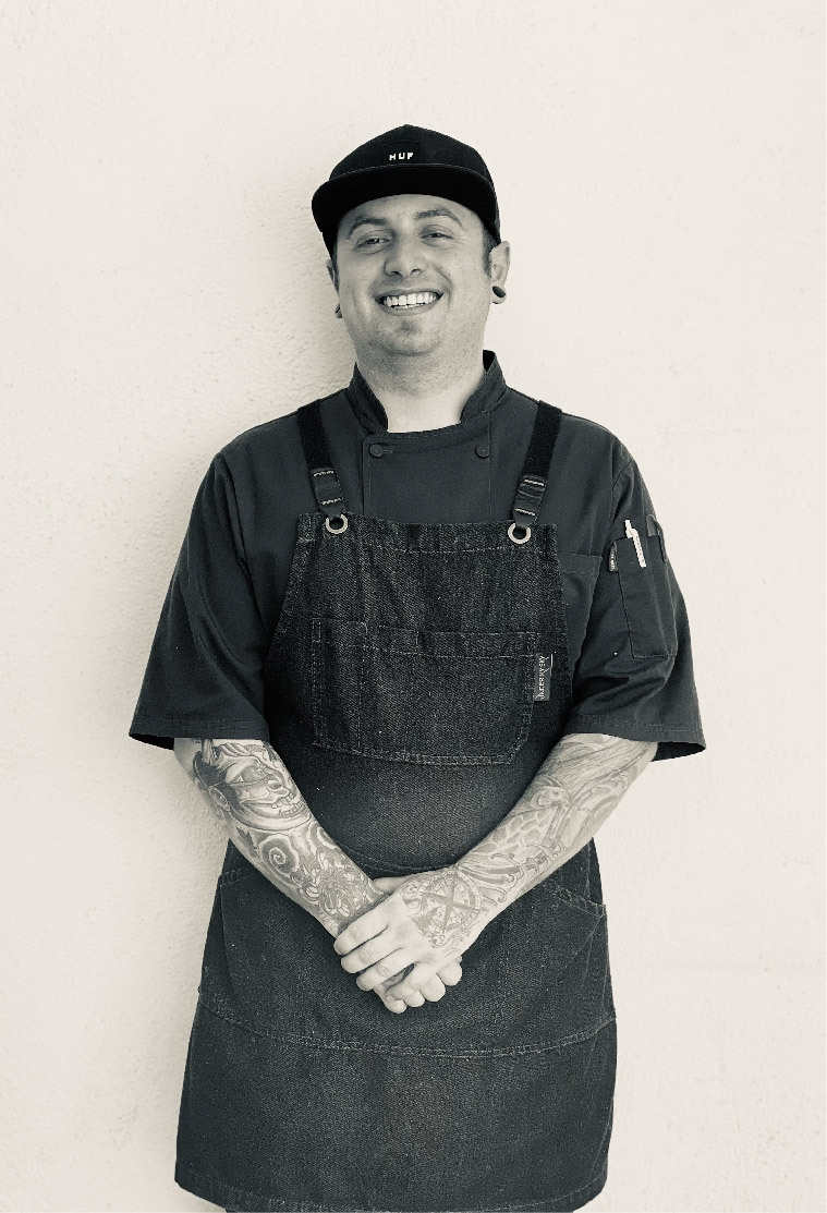 Sous Chef, smiling